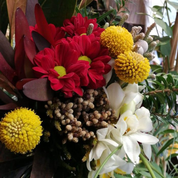 Ramos de flores en floristería de Madrid centro