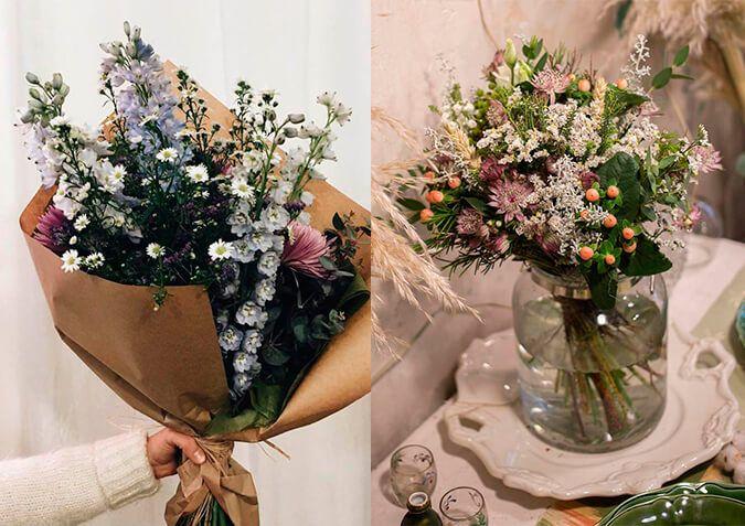 que flores regalar a una mujer