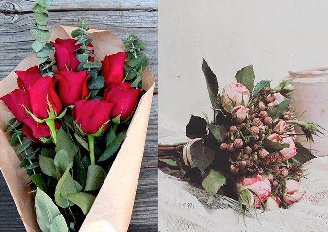 Que flores regalar en un aniversario o san valentín