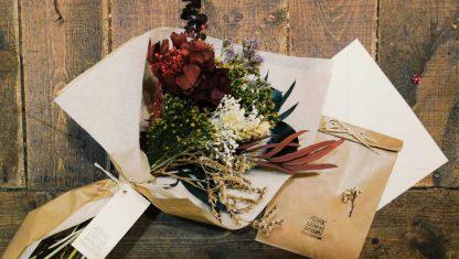 Bouquet de flores preservadas a domicilio en Madrid