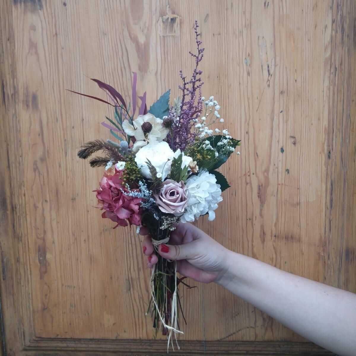 Ramo de flores para bodas en Madrid centro