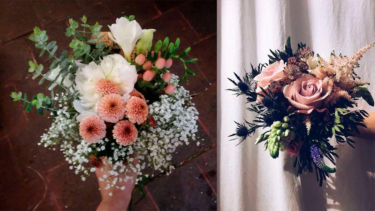 flores para una boda en diciembre