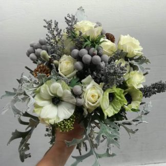 flores preservadas para el invierno
