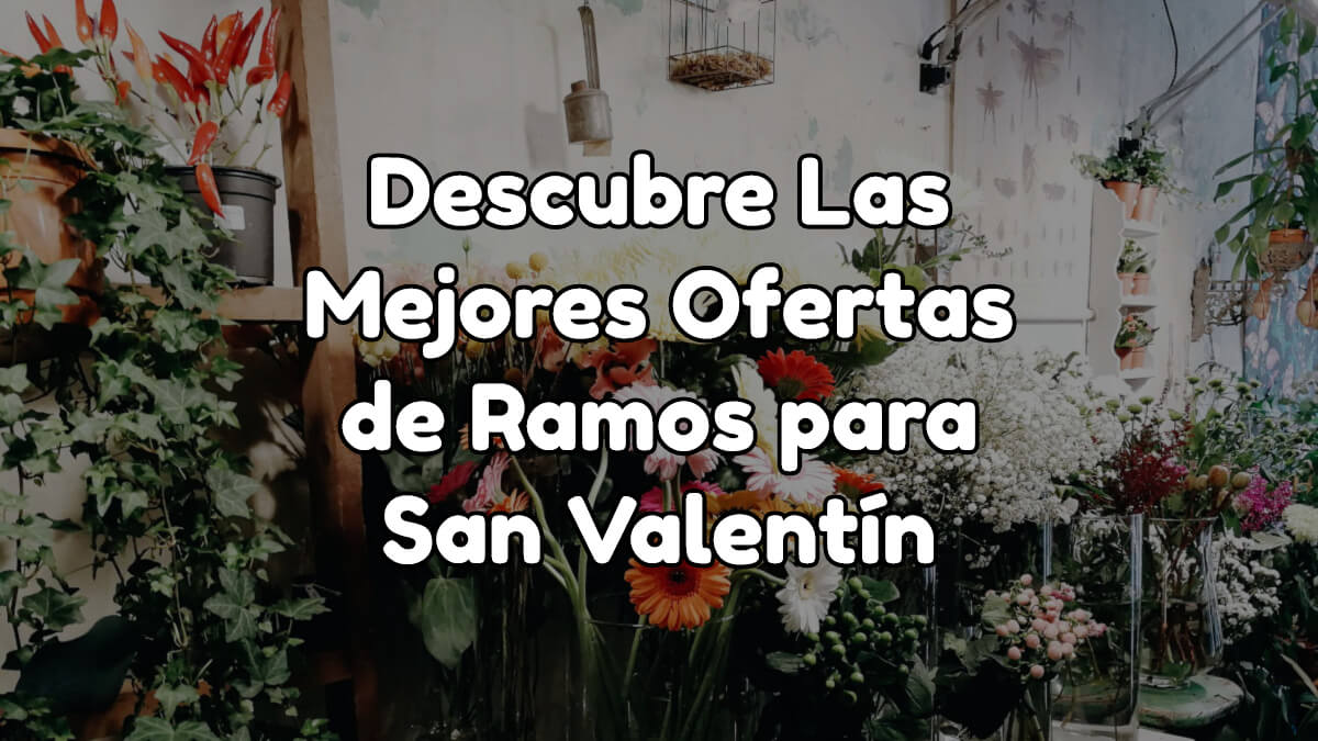 Mejores Ofertas de Ramos para San Valentín