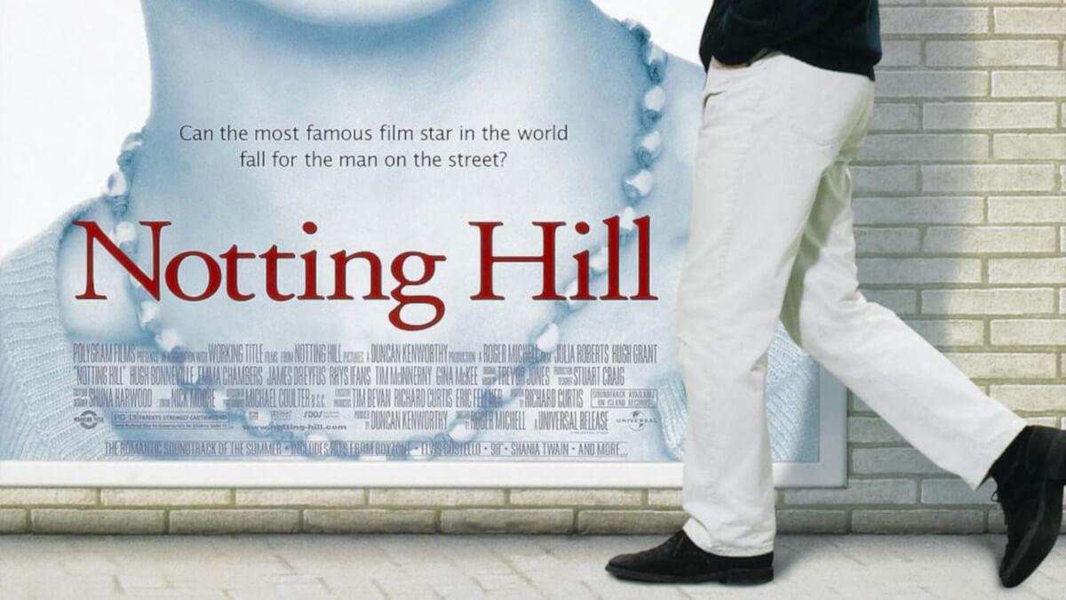 Notting Hill, película para enamorados