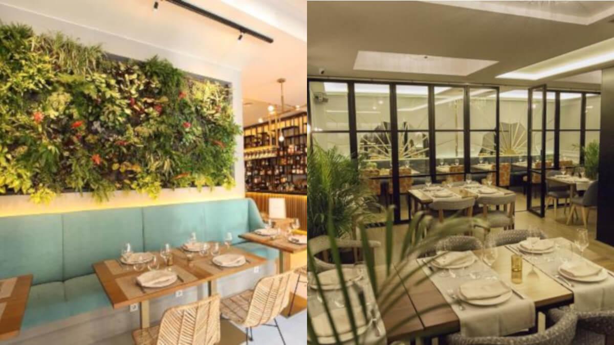 cena romántica en restaurante italiano en madrid