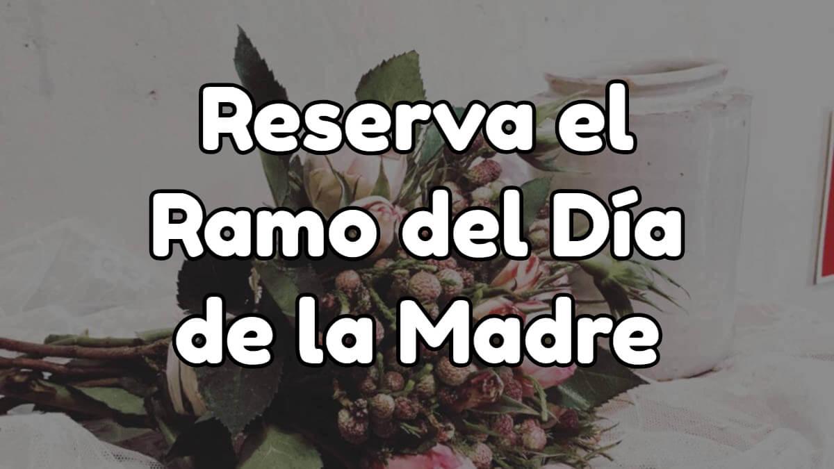 comprar ramo de flores día de la madre Madrid