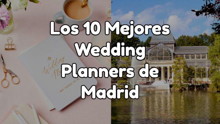 Los 10 mejores wedding planners de Madrid
