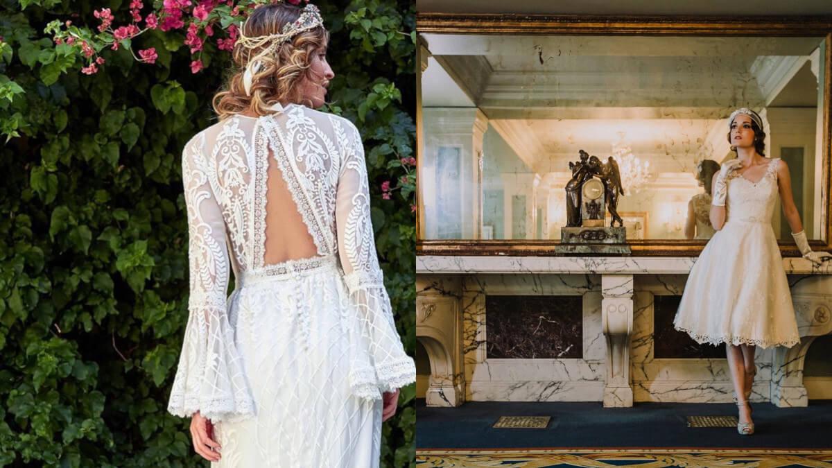 Vestidos para novias el corte italiano usera Madrid