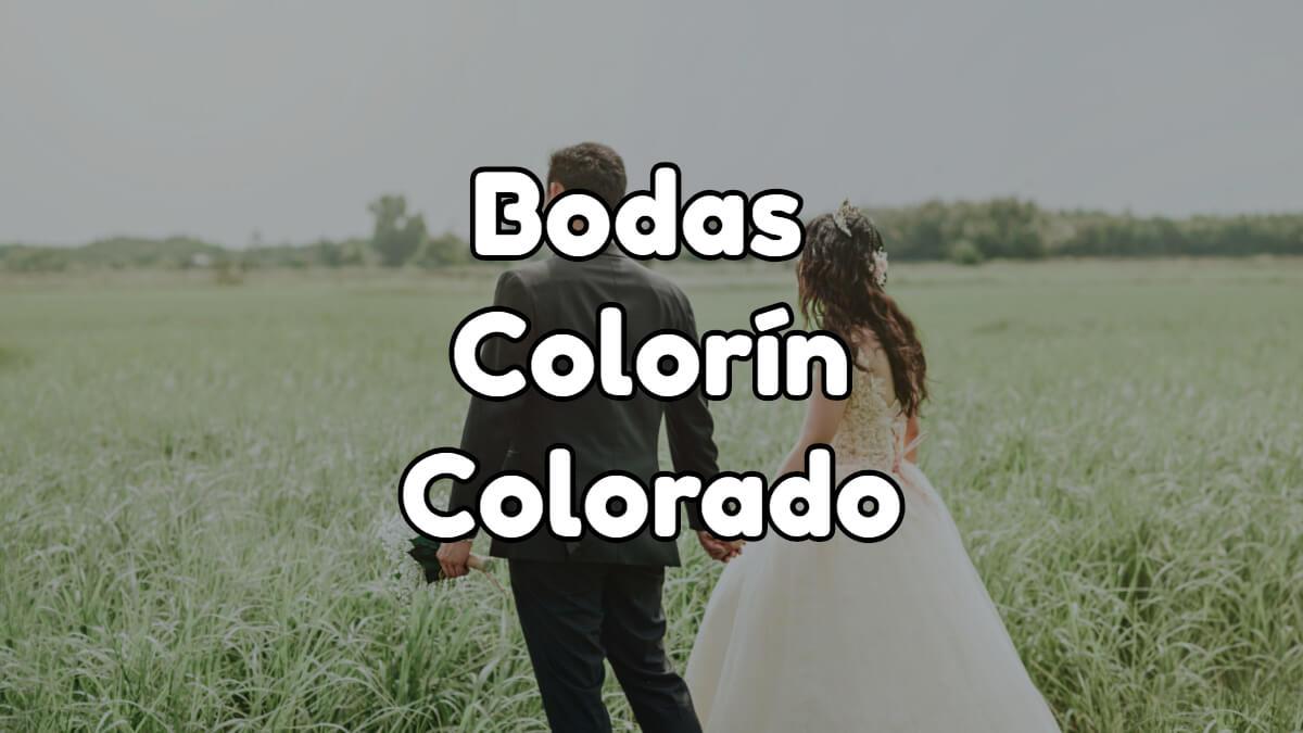 Boda colorín colorado