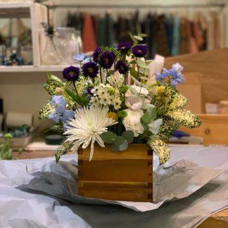 Caja Premium Adhoc Flores