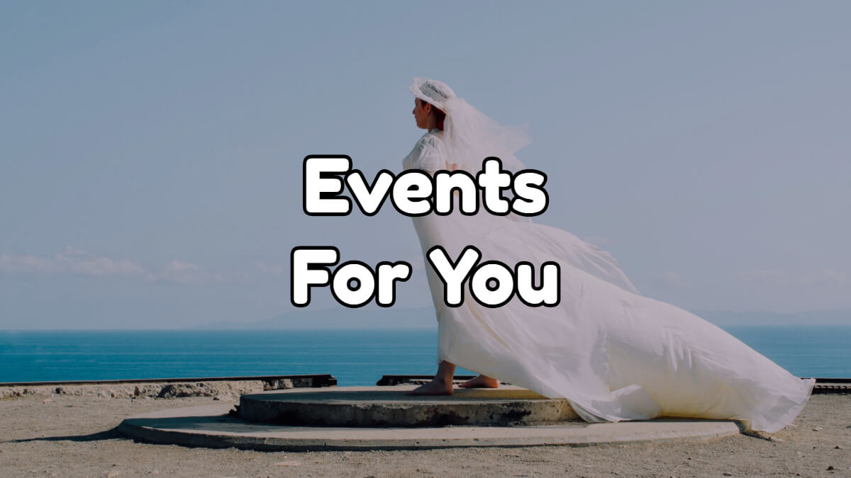 Events for you