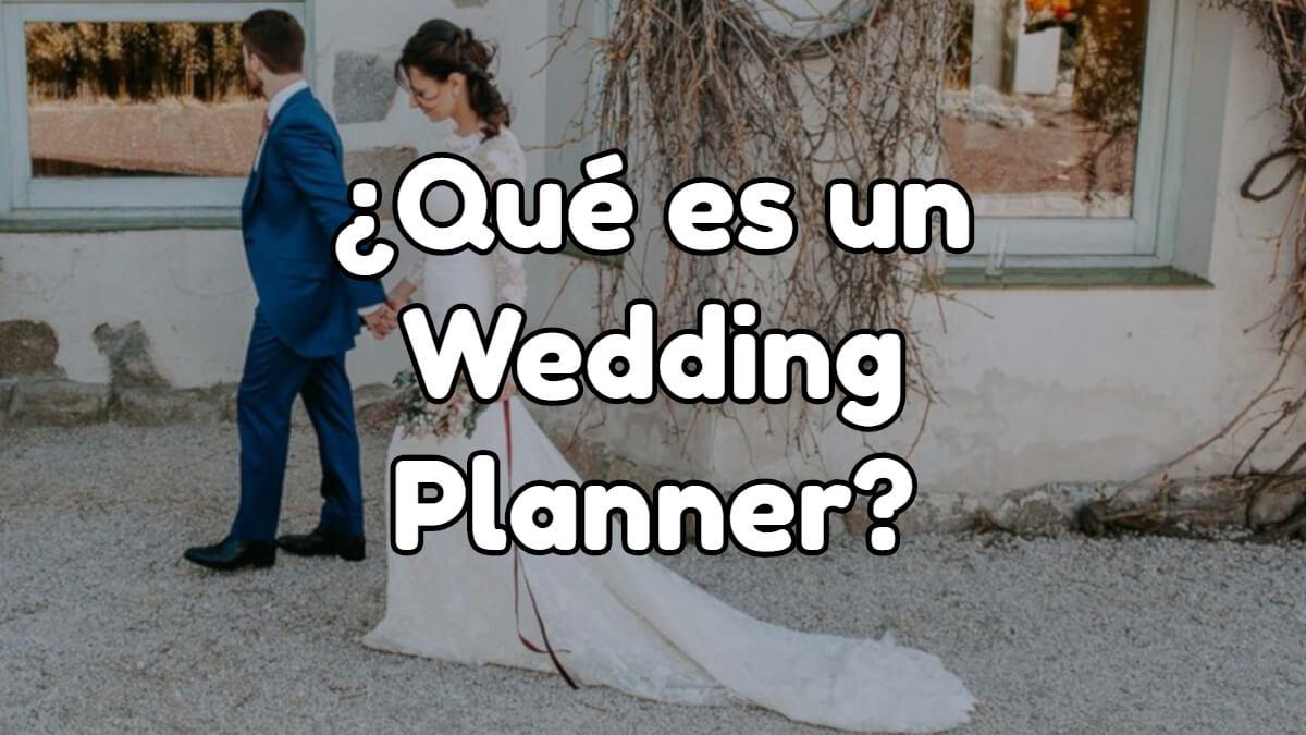 que es un wedding planner