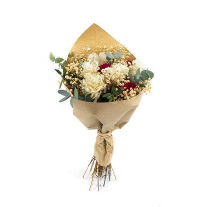 Ramo de San Valentín con flores preservadas